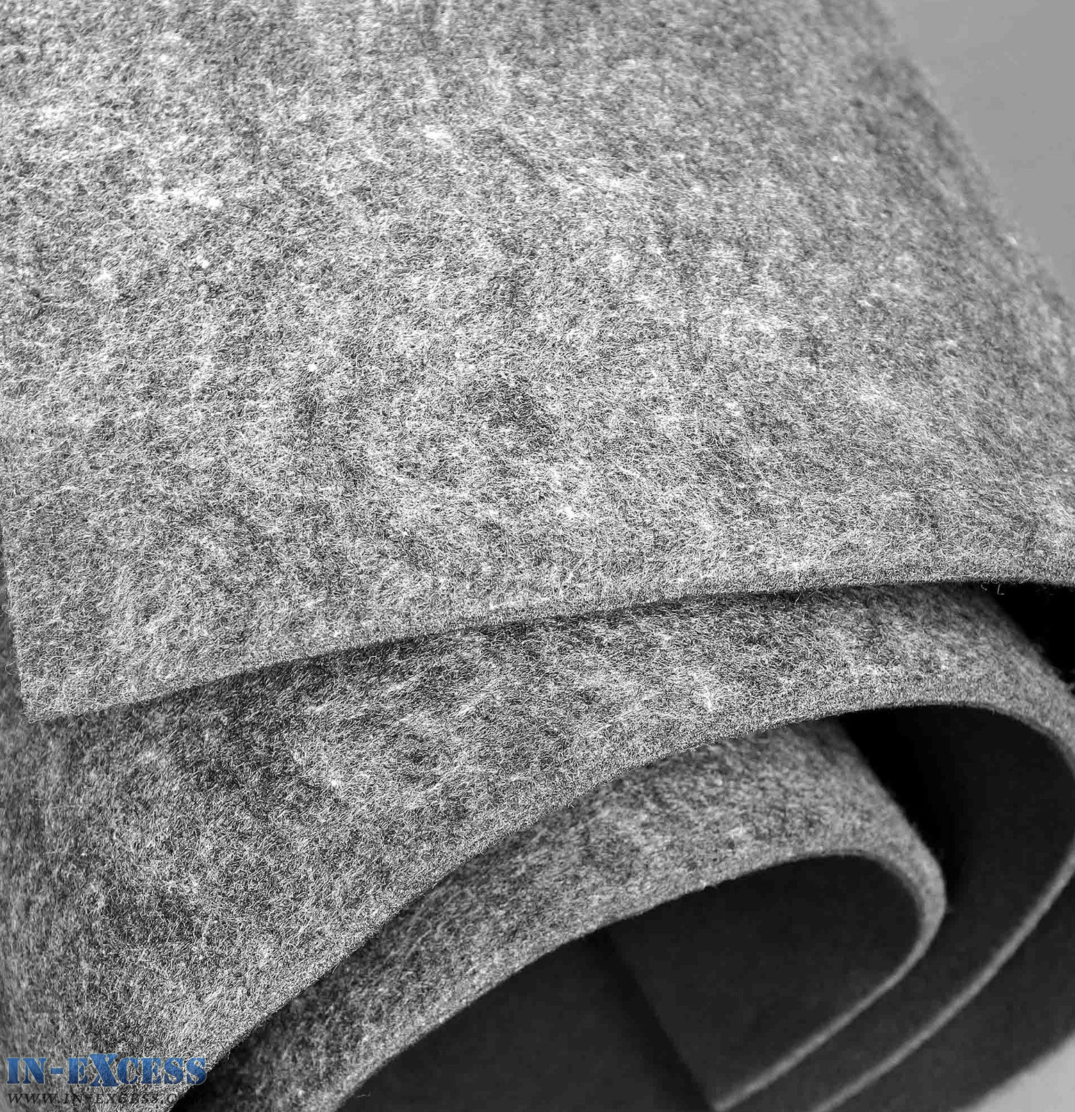 Soundproofing Under Felt Material Carpet Lining Insulation Car Van In Excess Direct