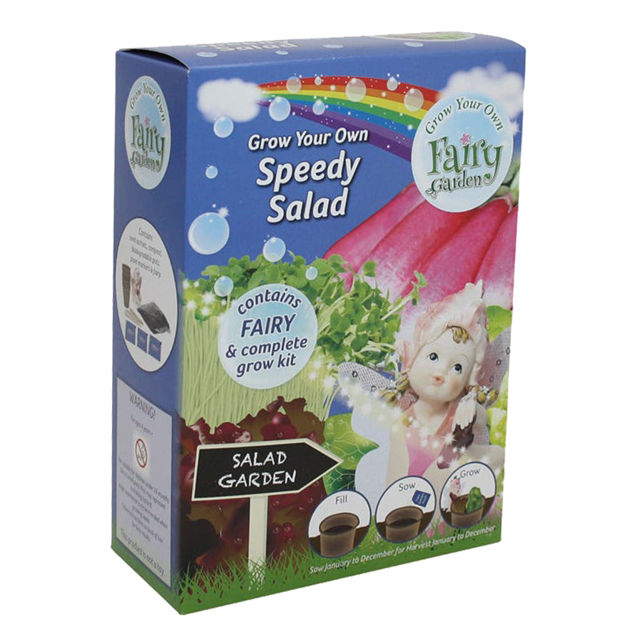 G Plants Grow Your Own Fairy Garden - Speedy Garden Salad