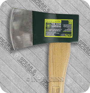 Spear & Jackson Kew Gardens Collection Professional Drop Forged Chopping Felling Splitting Axe - 4.5lb