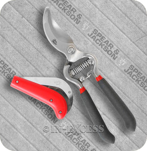 Spear & Jackson Razorsharp Professional Bypass Secateur Gardening Pruning Knife Set