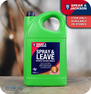 Spear & Jackson Spray and Leave Outdoor Cleaner - 5 Litres