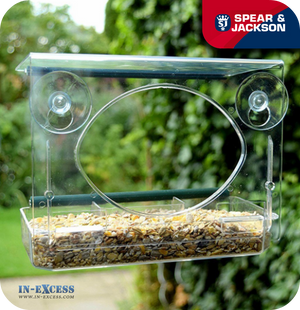 Spear & Jackson Wild Bird Feeder - Water & Seed