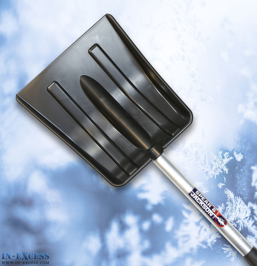 Spear & Jackson Telescopic Snow Shovel