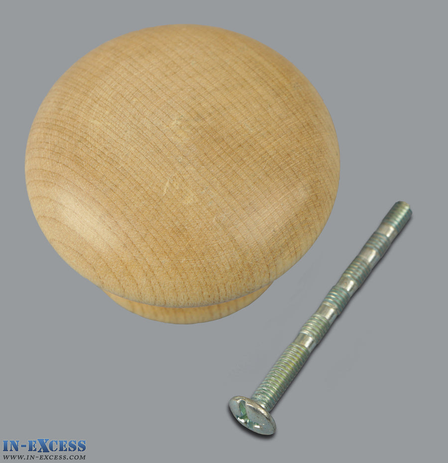 Specialist Pine Door Cabinet Furniture Knob- Available in 3 Sizes