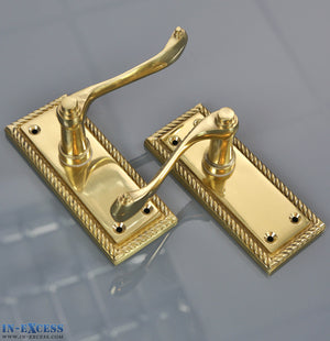 Specialist Solid Brass Georgian Lever Latch - 110 x 45mm