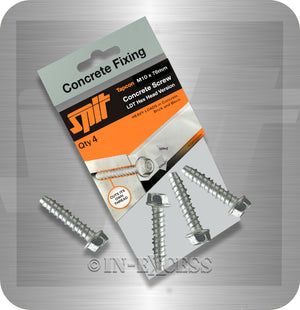 Spit Concrete Fixing Tapcon LDT Hex Head Concrete Anchor Screw - M10 x 76mm