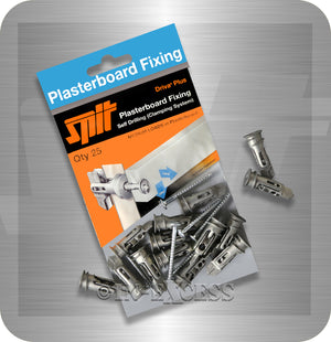 Spit Plasterboard Fixing Driva Plus Self Drilling Clamping System Plasterboard Fixing