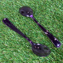 Mozaik Outdoor Picnic Party Cutlery - Pack of 10 - Spoons - Purple