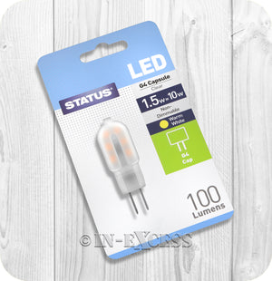 Status LED Non-Dimmable G4 Capsule Bulb 1.5W~10W - Warm White