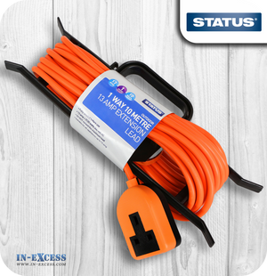 Status 13A One Way Extension Lead - 10 Metres