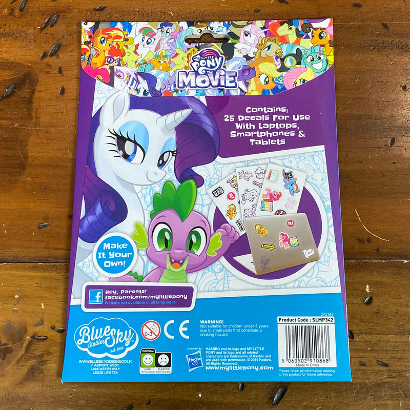 My Little Pony - The Movie -Stickers - Gadget Decals
