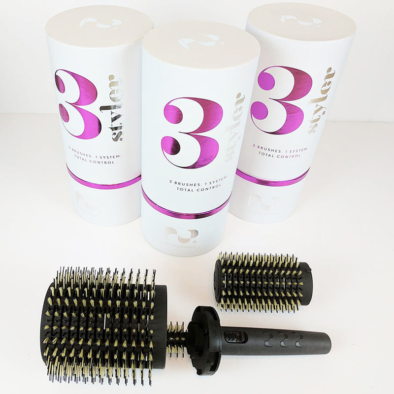 Hairphilosophers.com 3 Styler 3 in 1 hairbrush