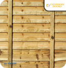 Tanalised Heavy Duty Fence Panel - 6ft x 4ft
