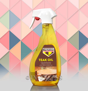 Photo Of Bartoline Teak Oil 500ml Front