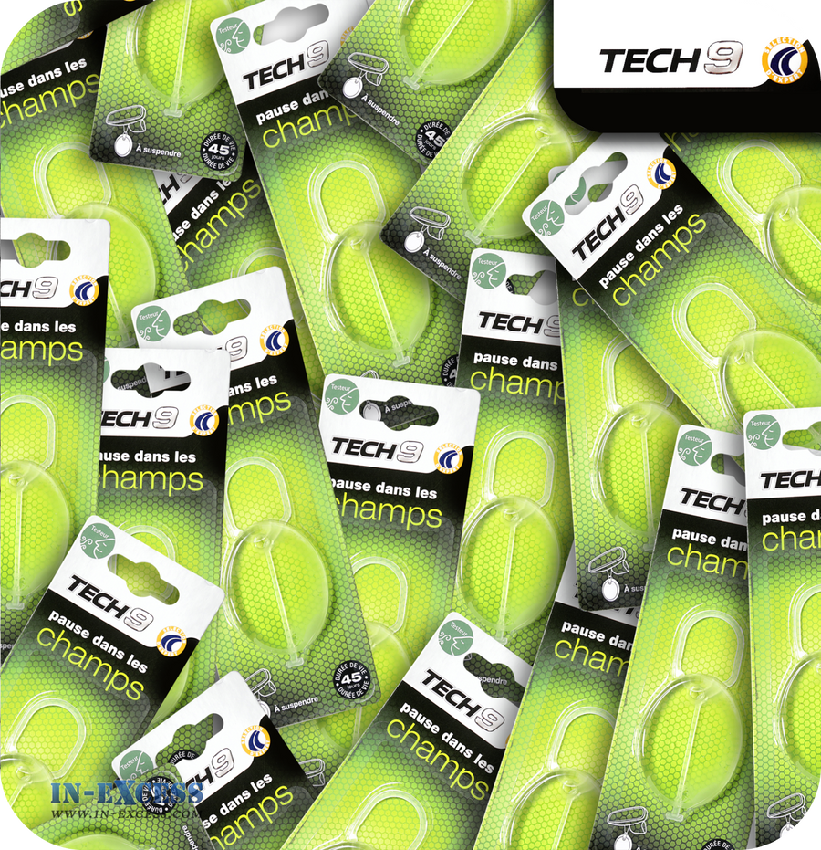 TECH9 Fragranced Car Air Freshener - Fresh Fields
