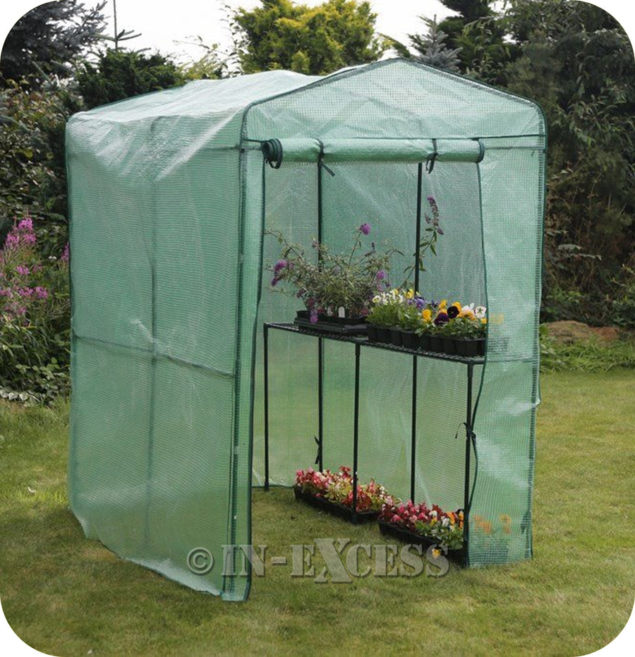 The Original Tom Chambers Compact Walk-in Garden Greenhouse