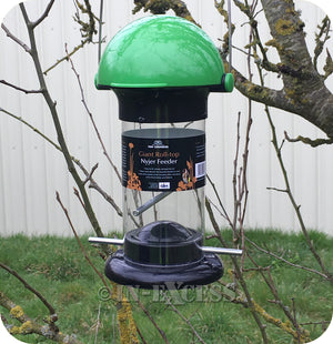 The Original Tom Chambers Wildlife Giant Roll-Top Nyjer Seed Feeder