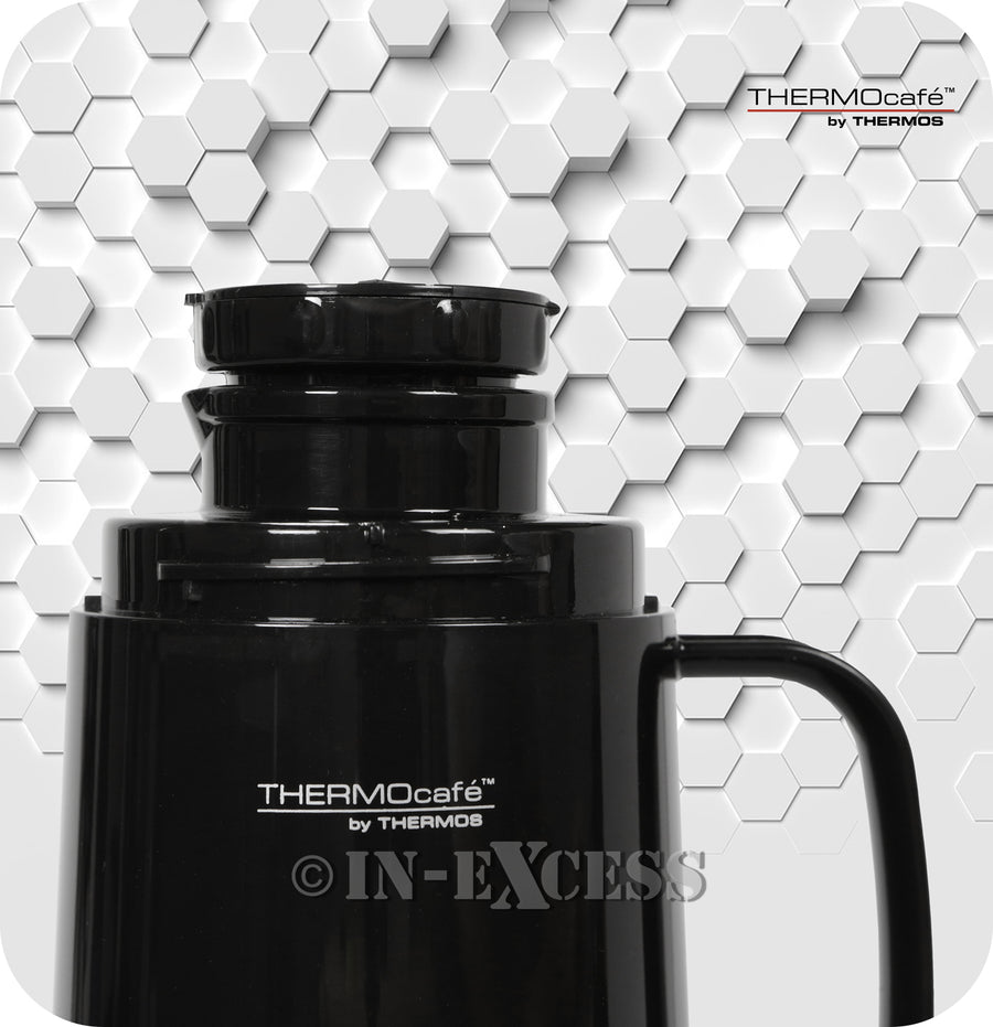 Genuine Thermos Brand Thermocafe Challenger Food Storage Flask Container - 0.75 Litres