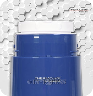 Genuine Thermos Brand Thermocafe Challenger Food Storage Flask Container - 0.5 Litres