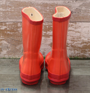 Town & Country Kid's Wellington Rain Boots - Red