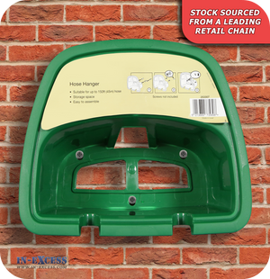 Wall Mounted PVC Hose Hanger - Green (253307)