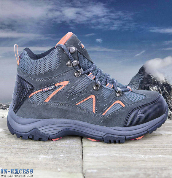 Vango Contour Men's Walking/Hiking Boots Waterproof Charcoal/Orange