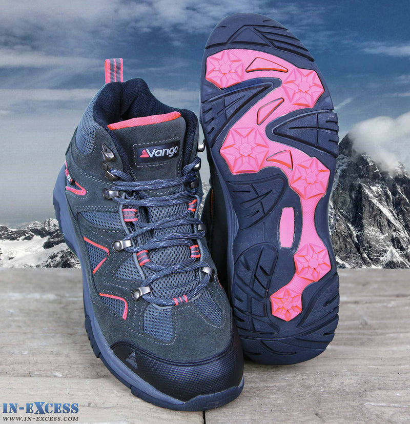 Vango Contour Women's Walking/Hiking Boots Waterproof Charcoal/Pink