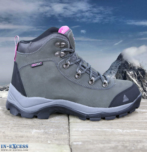 Vango Pumori Womens Walking/Hiking Boots Waterproof Charcoal/Pink