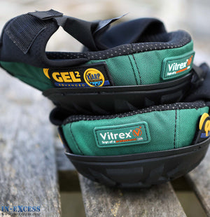 Vitrex 302454 Gel Quik Cap Knee Pads Professional Advanced EN14404 Protection