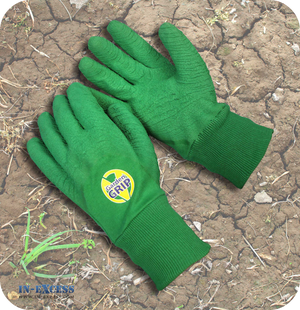 Vitrex All Rounder Thorn Resistant Latex Cotton Gardening Gardener's Gloves - Size L/XL