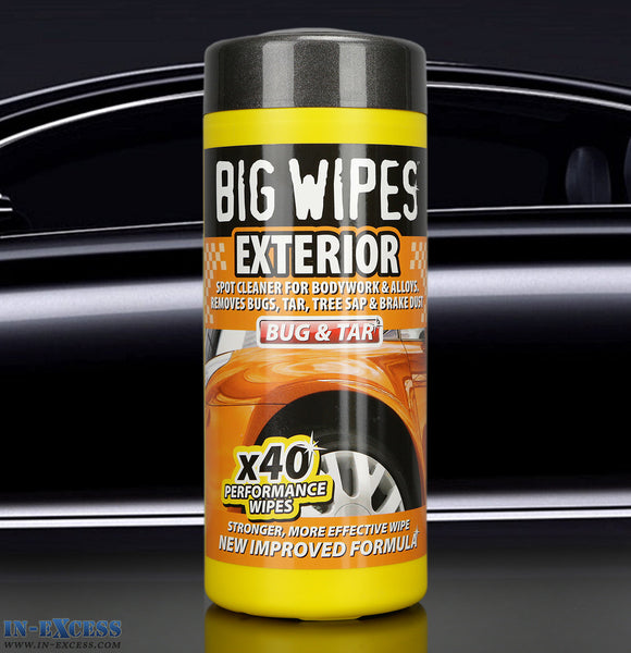 Big Wipes Exterior Wipes Tub (Pack of 40)