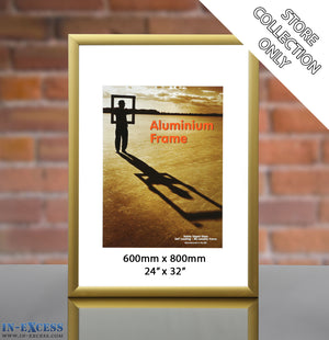 Wall Hanging Picture Frame 600mm x 800mm - Various Colours