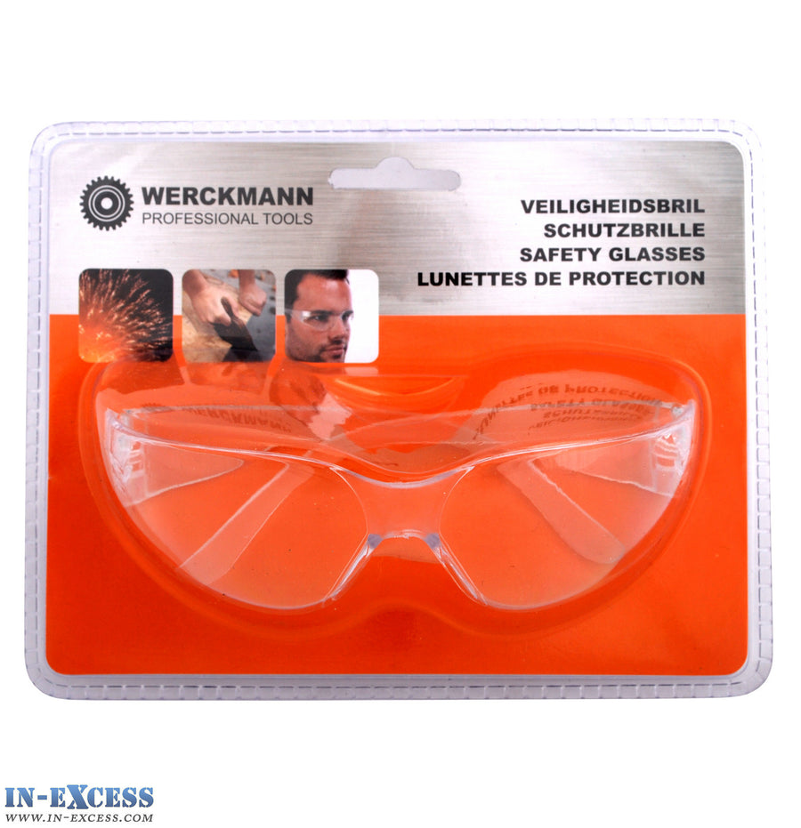 Werckmann Safety Glasses Clear Lense Eyes Protection
