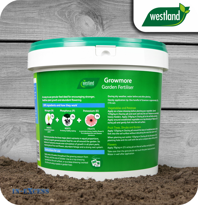 Westland Growmore Garden Fertiliser - 10kg