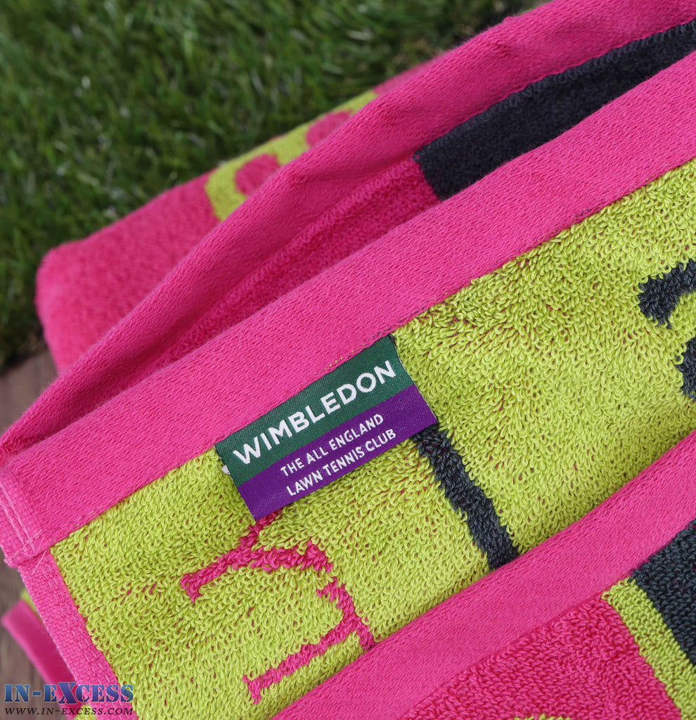 Christy Ladies Wimbledon 2015 Tennis Beach Bath Cotton Towel Cotton 70 x 133cm