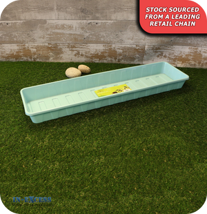 Grow Your Own Windowsill Tray - Sky Blue