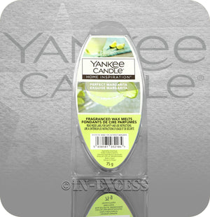 Yankee Candle Home Inspiration Fragranced Wax Burning Melts - Perfect Margarita (75g)