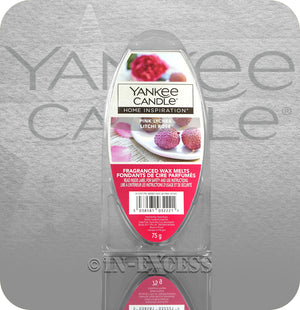 Yankee Candle Home Inspiration Fragranced Wax Burning Melts - Pink Lychee (75g)