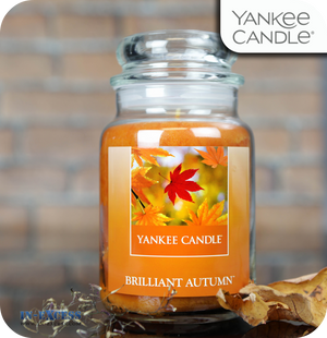 Yankee Candle Scented Large Jar Brilliant Autumn - 623g