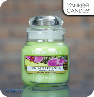 Yankee Candle Scented Small Jar Pineapple Cillantro - 104g