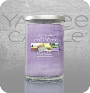Yankee Candle World Journeys Glass Candle Jar - French Lavender (566g)