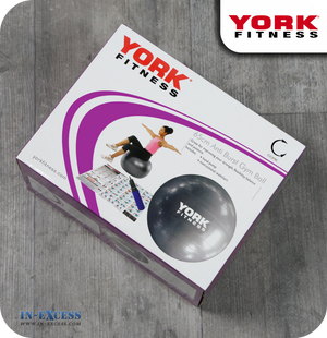York Fitness Core Anti Burst Gym Ball
