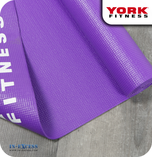 York Fitness Yoga Workout Mat - Purple