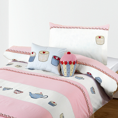 Little home at john lewis cupcakes duvet cover set