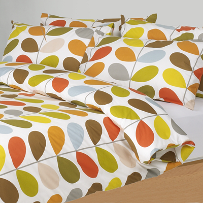 Orla kiely multi stem duvet covers multi