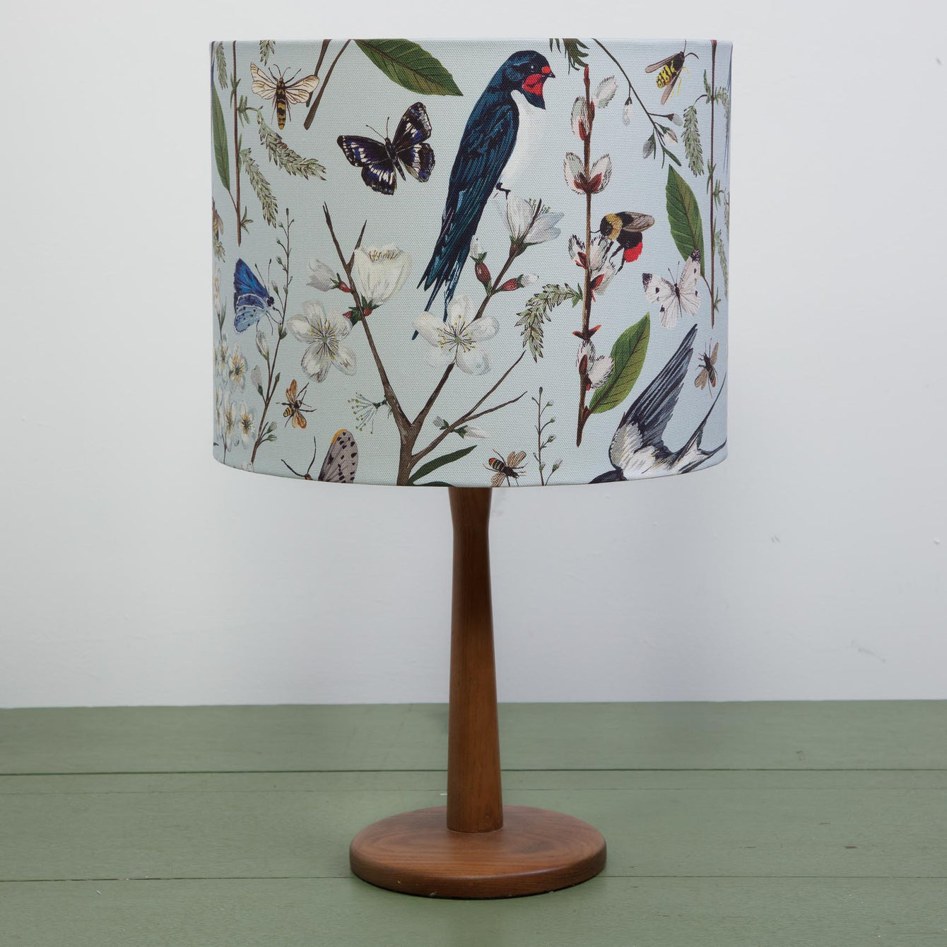 Swallows and Blossom Lampshade