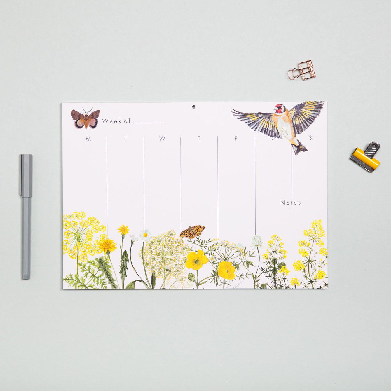 Goldfinch Weekly Planner