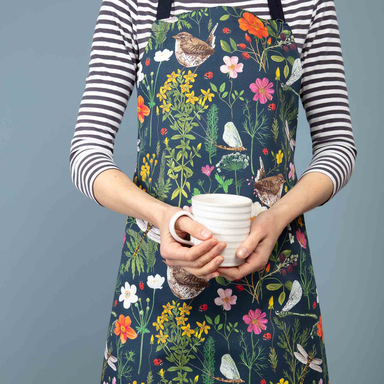 Wren and Ladybird Apron