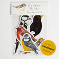 Garden Birds Vinyl Stickers