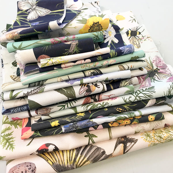 Fabric scrap bag - large